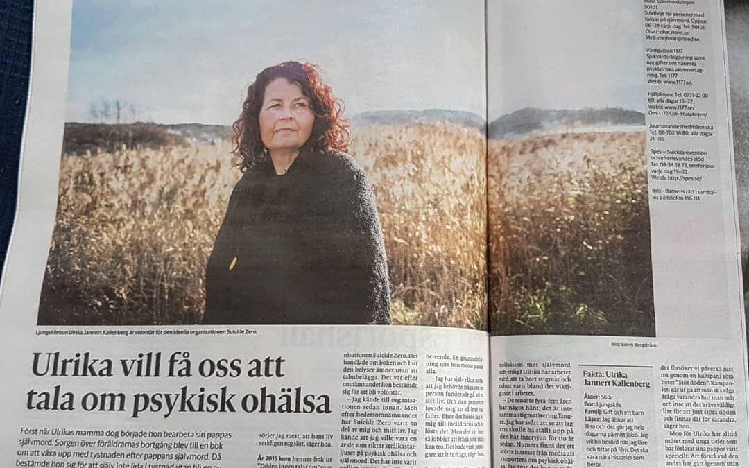 Bohusläningen skriver en artikel om mig