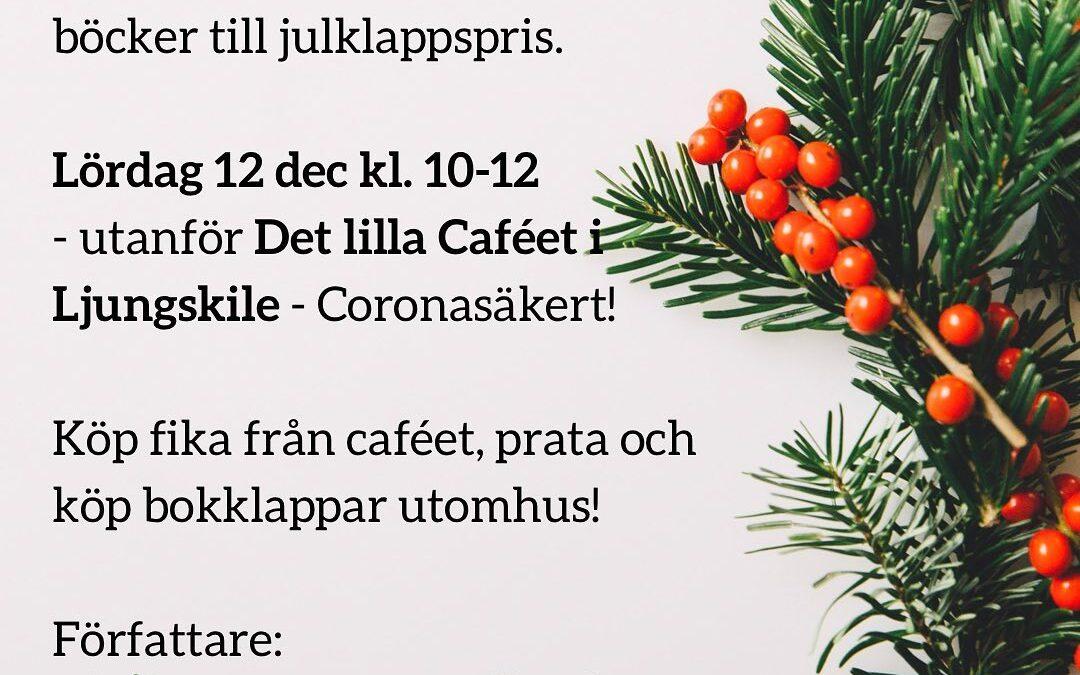 Köp bokklappar på Det Lilla Caféet på lördag